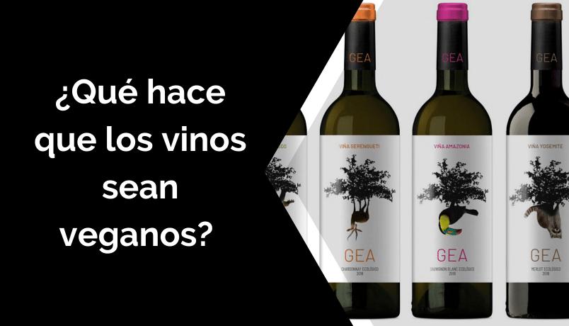 ¿Qué hace que los vinos sean veganos?